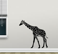 Giraffe Wall Decal Wild Animal Nursery Vinyl Sticker African Decor Mural 50hor