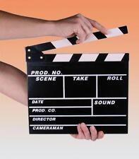 CIAK CINEMATOGRAFICO IN LEGNO 27X30 CM SET FILM SCENOGRAFIA novità