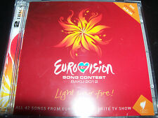 Eurovision Song Contest Baku 2012 All 42 Songs From The Contest 2 CD - NEW