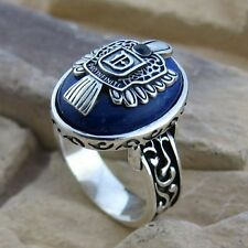 Vintage Silver Vampire Diaries Damon Elena Nina Ring Unique Gift for Man Women