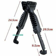 Tactical Foldable Foregrip Bipod Picatinny Rail Quick Release Mount for Rifle 组