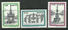 BRAZIL. 1979. Brasiliana 79 Fountains Set. SG: 1788/90. Mint Never Hinged
