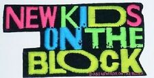 NEW KIDS ON THE BLOCK vintage embroidered iron or sew on patch  NKOTB