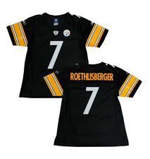 Ben Roethlisberger Steelers Women's Black Premier Reebok Jersey - MEDIUM