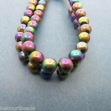Rainbow 6mm Round Magnetic Beads!  Beautiful, Strong Beads for 6mm