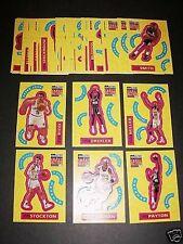 1996-97 CC UD S2 NBA $ Stick Ums English 96-1997 Set 30 Jordan Kidd Allen Miller