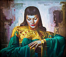 Lady from Orient A1+ by Vladimir Tretchikoff High Quality Canvas Print