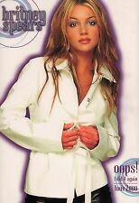 BRITNEY SPEARS 2000 OOPS! I DID IT AGAIN TOUR CONCERT PROGRAM BOOK