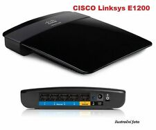 Refurbished Linksys Wi-Fi Router E1200 - 802.11n, 4xLAN