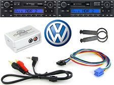 Vw Gamma AUX entrada adaptador RADIO retiro teclas pc5-133 Ipod Iphone Mp3 ctvvgx001