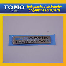GEN FORD ECONETIC TECHNOLOGY BOOT BADGE Emblem Fiesta Focus Galaxy C-Max Transit