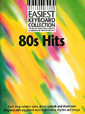 Easiest Keyboard Collection 80s Hits Learn to Play Easy Piano Music Book