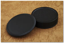 Lens Cap Set M39 L39 LTM 39mm Screw Mount Body + Rear Cap Leica II III Zenit