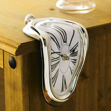 Novelty Hanging Clock Surrealist Irregular Melting Wall Clock Surrealist Style