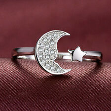 NUE Stars Moon Ring  Opening Ring Fashion Delicate Bracelet let us buy it