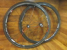 FSA VISION TRIMAX TC24 700C CARBON TUBULAR 10 SPEED SHIMANO SRAM WHEEL SET TIRES