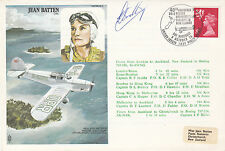 HA9b Jean Batten 40th Anniv Solo Record  Flown   Bombay - Hong Kong Signed Pilot
