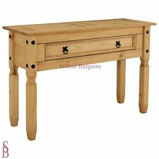 Puerto Rico 1 Drawer Console Table - Solid Pine - BNIB - Was £99.99