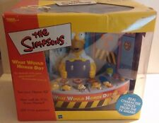 NIB~THE SIMPSONS TRIVIA GAME WHAT WOULD HOMER DO. MINT IN BOX~