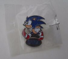 SONIC THE HEDGEHOG locale RARO NEW Vintage Smalto Metallo pin badge pin Mega Drive