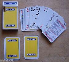 jeu 54 cartes publicité RICARD - CARTA MUNDI TURNHOUT BELGIQUE