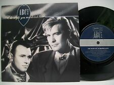 "7"" VINYL SINGLE. The Night You Murdered Love b/w Minneapolis by ABC. 1987 NT 112"