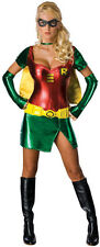 Adult Robin Costume Sexy Womens Superhero Costume Batman SideKick Size XSmall