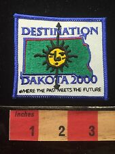 Y2K DESTINATION DAKOTA 2000 South Dakota Patch 68WK