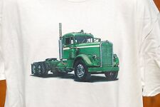 graphic retro art vintage Cotton Mens T Shirt , S,M,L,XL , Early KENWORTH