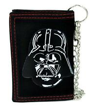 Darth Vader Helemt Tri-fold Wallet with Chain Alternative Clothing Star Wars