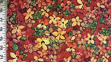 """P&B Midnight Gardens 2 by Susie M Robins 100% cotton 42"""" Fabric by the yard 36"""""""