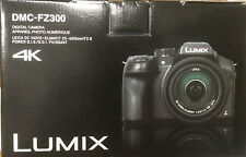 Brand New Panasonic LUMIX FZ300 12.1 MP 4K Full Pleine HD Digital Camera - Black