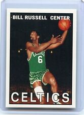 "2007-08 TOPPS #BR67 BILL RUSSELL ""THE MISSING YEARS 1967"" BOSTON CELTICS, 062816"