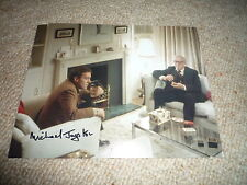 MICHAEL JAYSTON signed  Autogramm In Person 20x25 cm THRILLER
