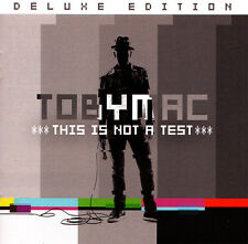 Toby Mac - This Is Not A Test [Deluxe] CD 2015 ** NEW ** STILL SEALED **
