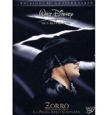 DISNEY BOX sigillato ZORRO - la prima serie in 6 dvd