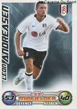 LEON ANDREASEN # DENMARK FULHAM.FC HANNOVER 96 CARD PREMIER LEAGUE 2009 TOPPS