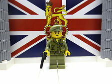 WWII LEGO British (Para.) Lieutenant S.B.S (Far East) 1944 with M1917 and Beret