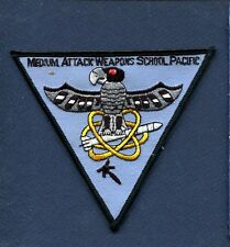 MEDIUM ATTACK WEAPONS SCHOOL PACIFIC US NAVY A-6 Intruder Squadron Patch