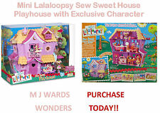 MINI Lalaloopsy SEW SWEET HOUSE Playhouse con carattere esclusivo-fantastico regalo
