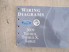 2009 Ford Taurus Taurus X Sable Auto Wiring Diagrams Manual MORE IN STORE  V