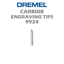 "New Authentic Dremel Carbide Point Tip Engraving Bit 9924 1/8"" Shank"