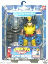 "Spiderman & Friends Claw Catch Wolverine 6"" Figure!"