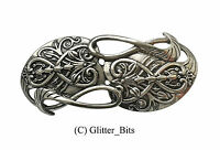 Hobbit LOTR Lord Of The Rings GANDALF Brooch Pin Badge Wizard Silver Plated