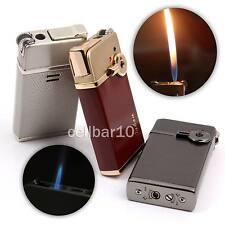 Jet Flame+Soft Flame Cigarette Cigar Smoking Pipe Lighter W/Cylinder Flint Wheel