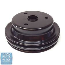 69-81 GM Car 2 Groove Crankshaft Pulley (Small Block) W/O AC - GM 3956666 - Each