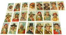 Antique Sweet Caporal Little Recruit Sub Rosa Tobacco Cards Nation Series Lot 22