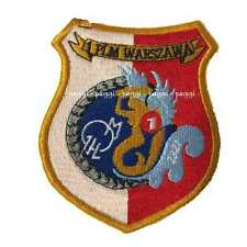 Patch B28 Polish Air Force – 1st Fighter Squadron