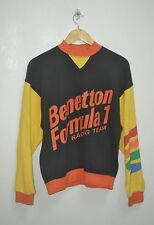 VINTAGE UNITED COLORS OF BENETTON FORMULA 1 RACING TEAM SWEATSHIRT