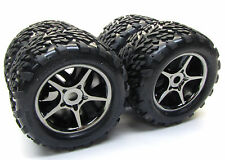 1/10 BRUSHLESS E-REVO TIRES (17mm splined WHEELS tyres (set 4 talon Traxxas 5608